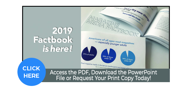 The 2019 MPA Magazine Media Factbook Is Here!