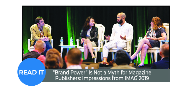 """""""Brand Power"""" Is Not a Myth for Magazine Publishers"""