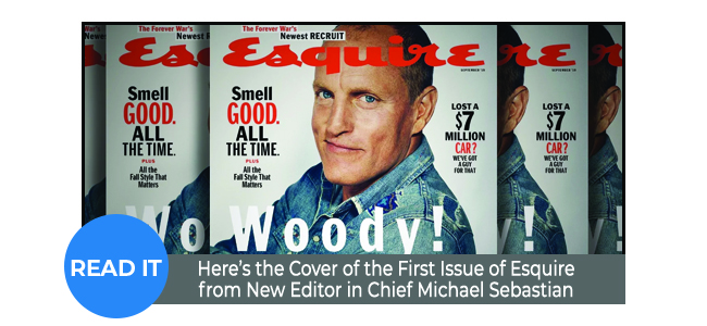 Here's the Cover of the First Issue of Esquire from New Editor in Chief Michael Sebastian: Ad Age Eyes the Fall Magazine Covers