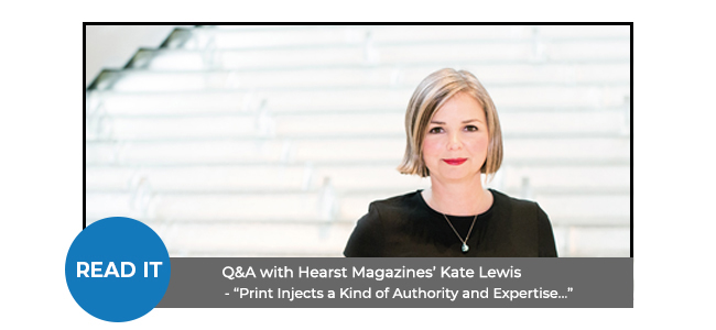 Q&A with Hearst Magazines' Kate Lewis