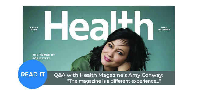 Q&A with Health Magazine's Amy Conway