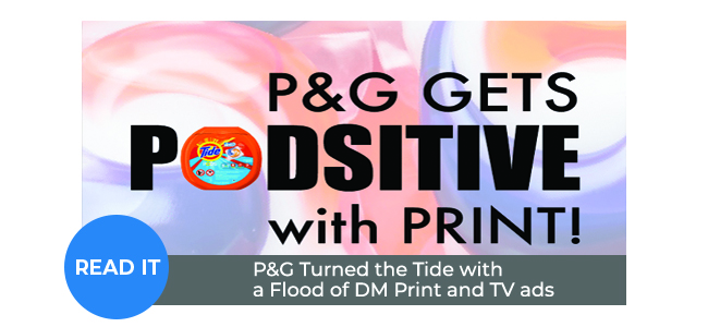 P&G Turns the Tide with a Flood of Print and TV ads