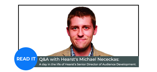 Q&A with Hearst's Michael Nececkas